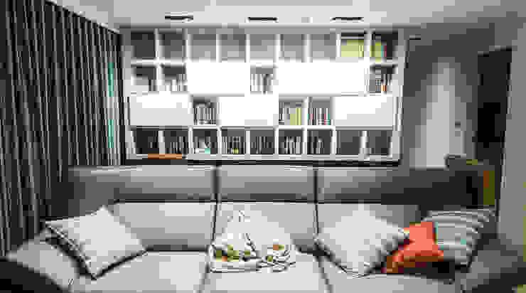 書房空間風水設計 by 大吉利室內裝修設計工程有限公司 Modern