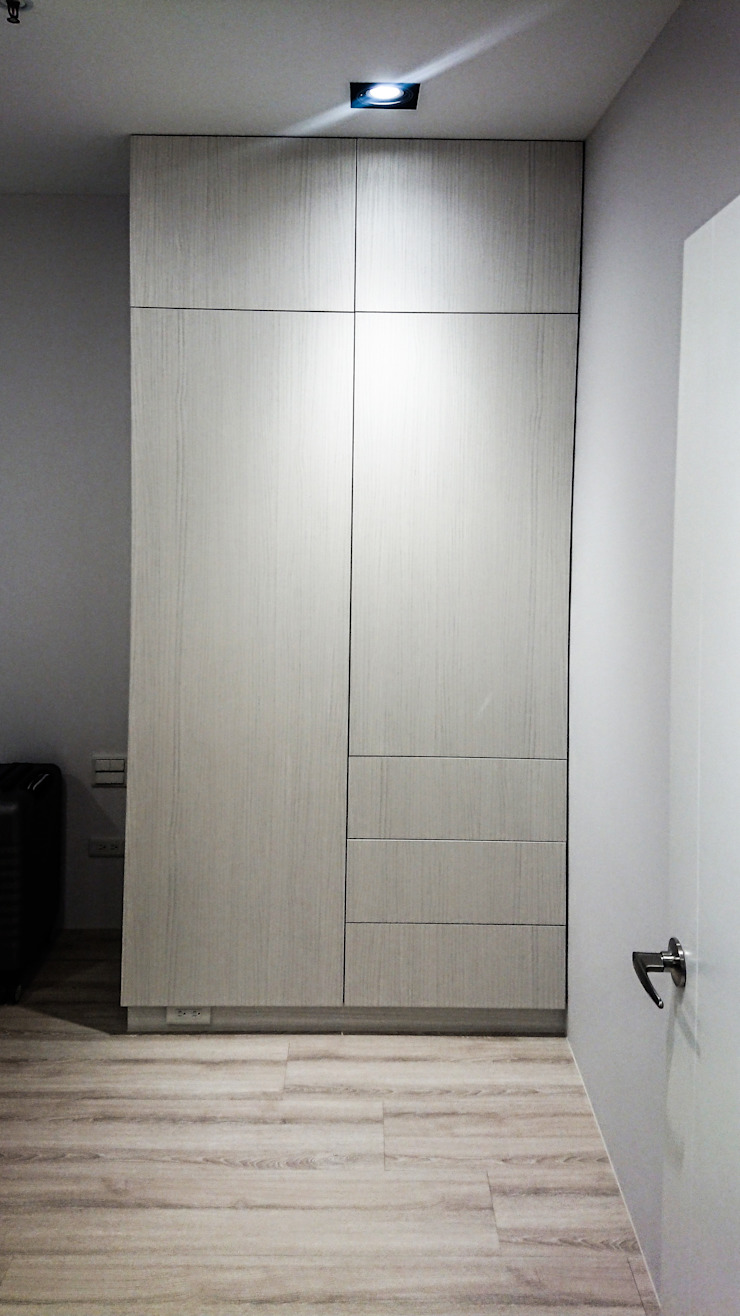 Kamar Tidur Modern Oleh 大吉利室內裝修設計工程有限公司 Modern