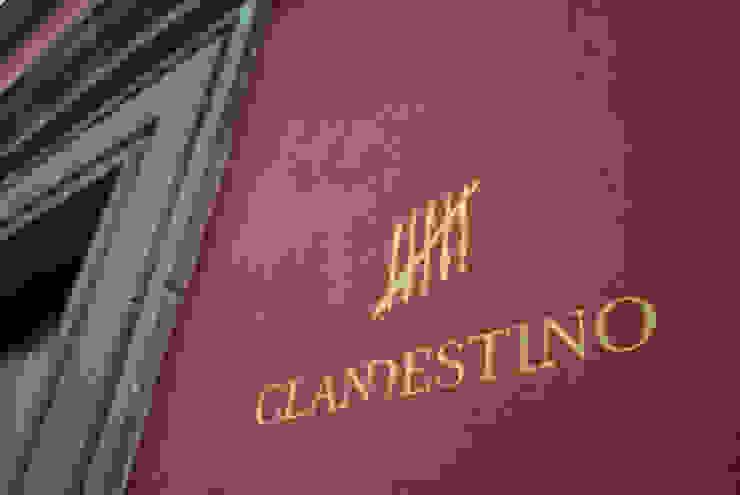 Logo Clandestino Hotel by DE LEON PRO Colonial