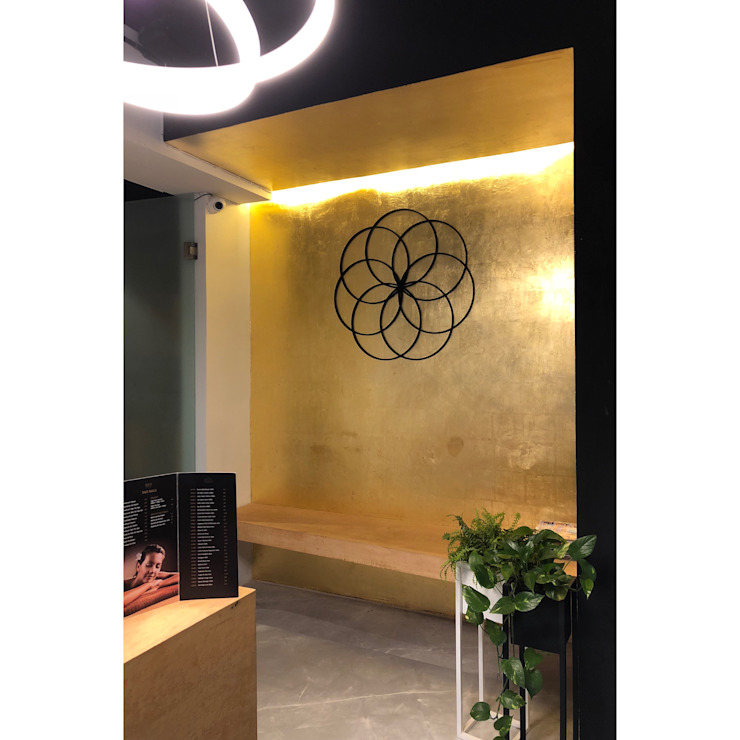 lobby / waiting area DE LEON PRO Commercial Spaces Amber/Gold