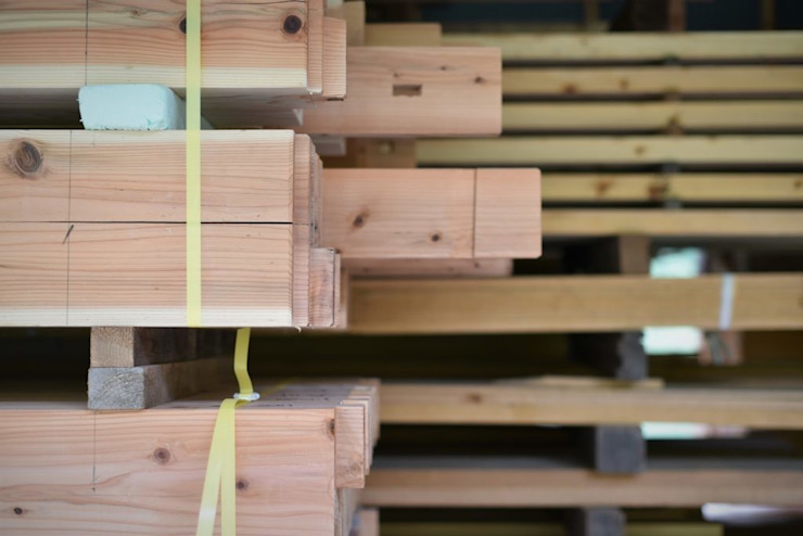 手刻みの構造材 水野設計室 日本家屋・アジアの家