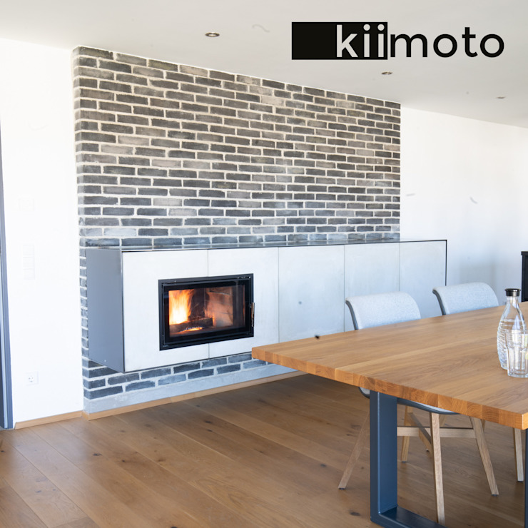 Living room by kiimoto kamine,