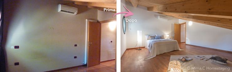 Mirna Casadei Home Staging 臥室