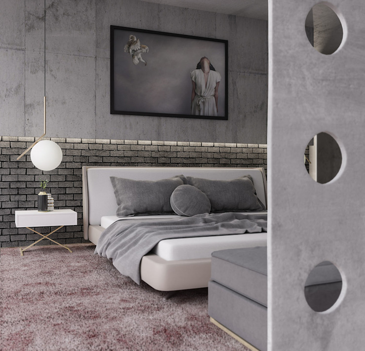 Bedroom by VICMA-design, Modern