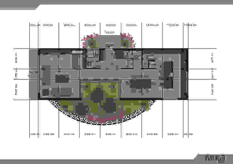 ทันสมัย  โดย PRATIKIZ MIMARLIK/ ARCHITECTURE, โมเดิร์น