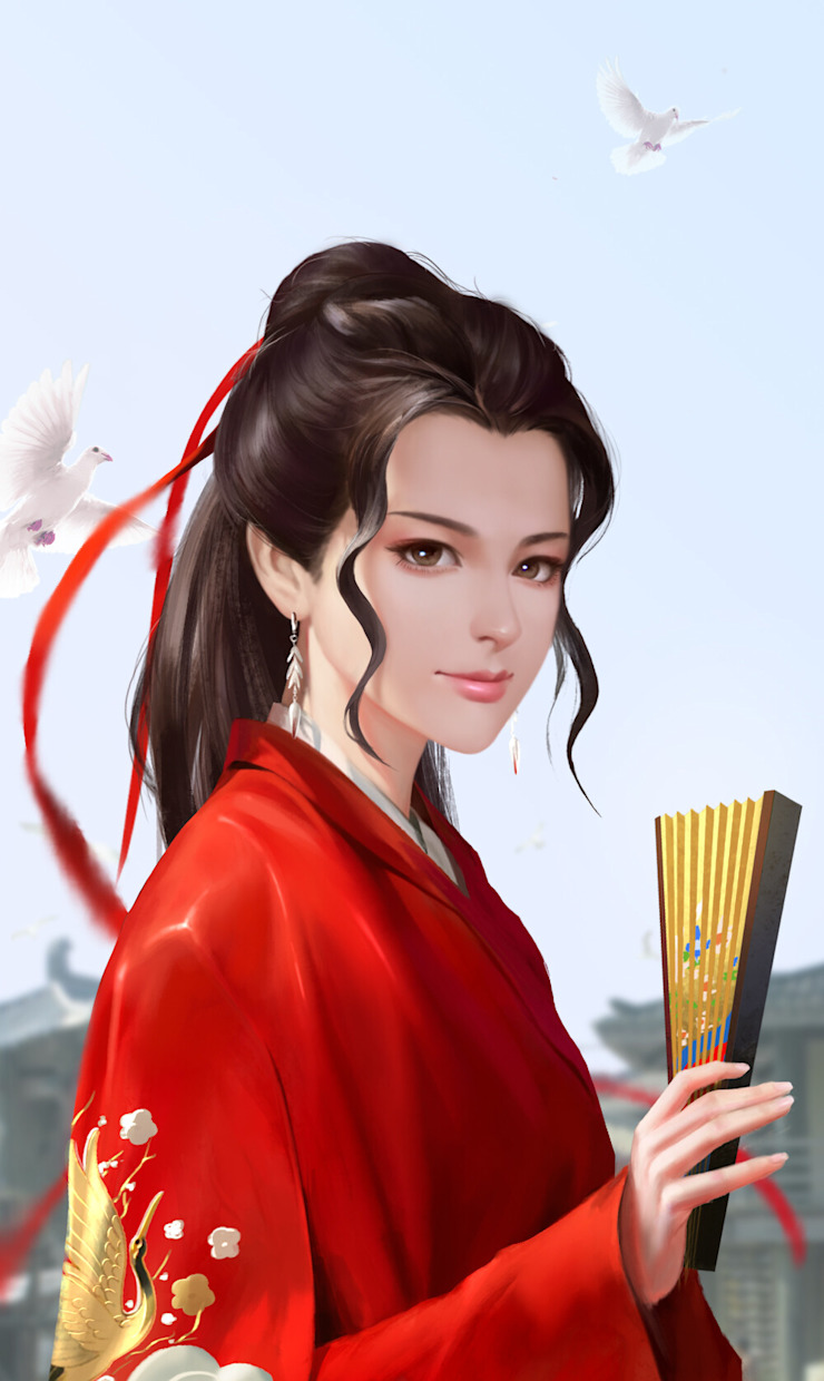 Wind Flower by ITG SM Asian