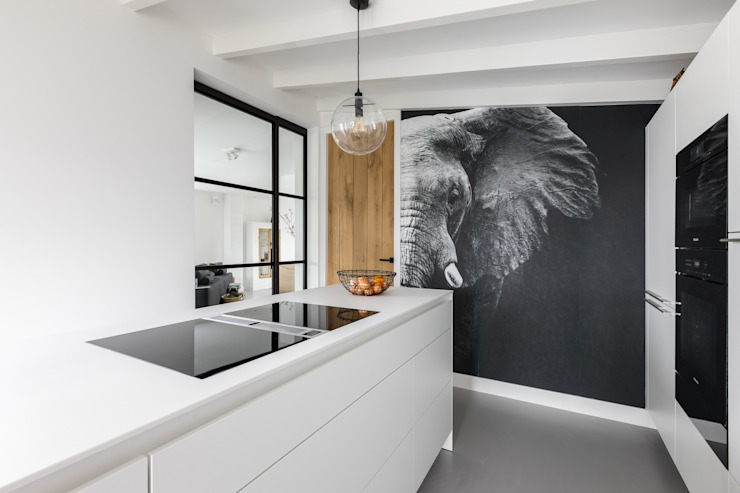Keukenontwerp InHouse Design Moderne keukens