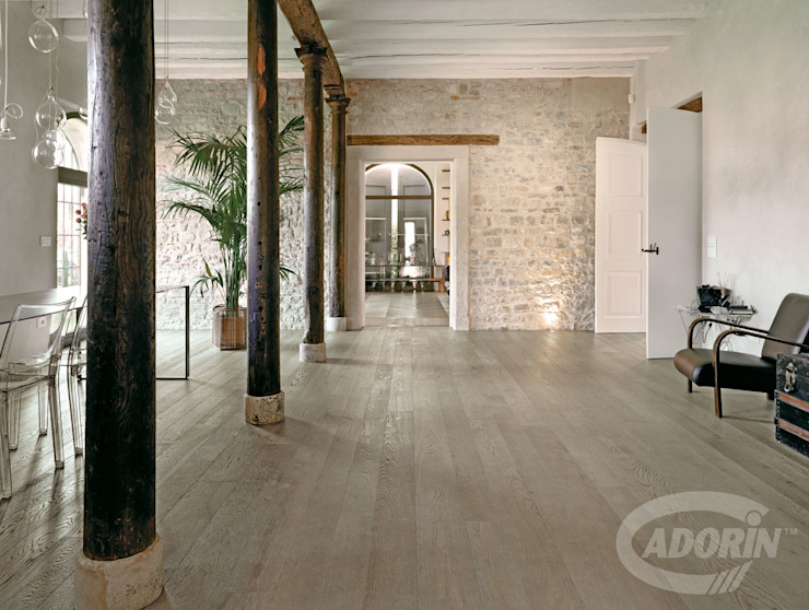 Cadorin Group Srl - Italian craftsmanship production Wood flooring and Coverings Study/office Wood Grey