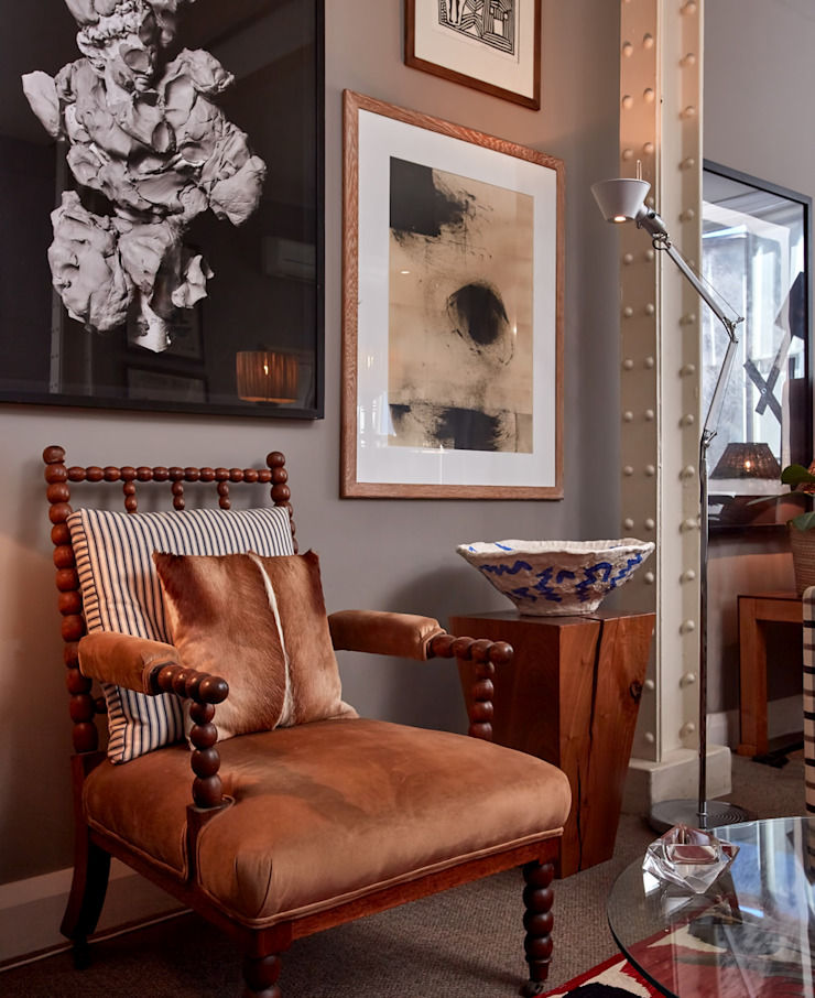Apartment Hout by Liam Mooney studio Eclectic