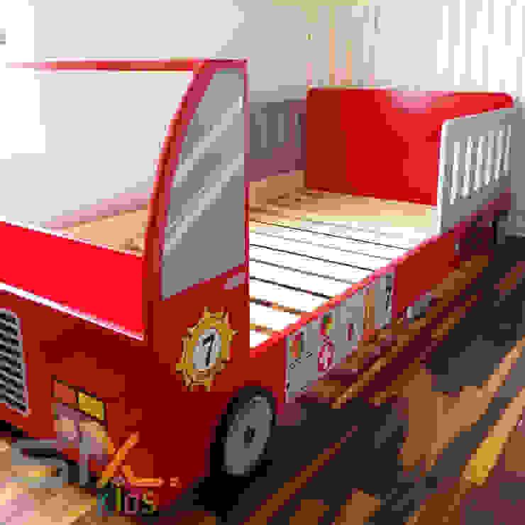Cama de bombero de Sixz Perú Moderno