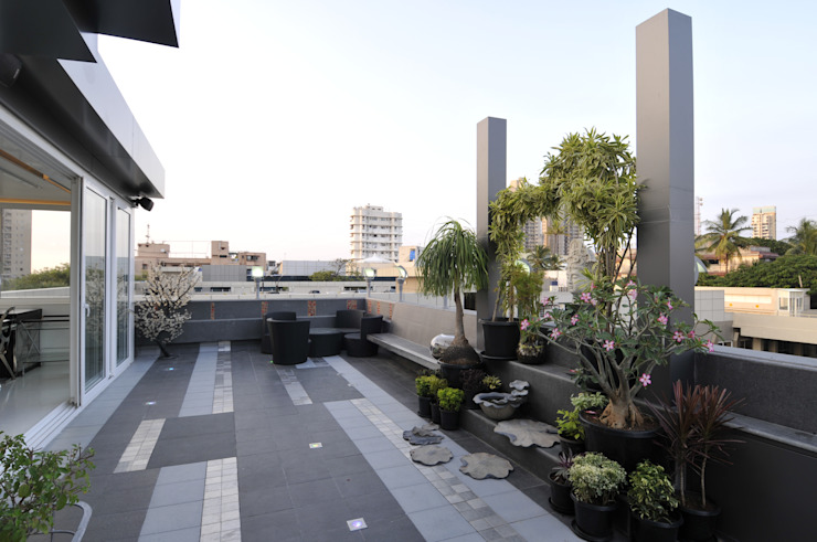 site at prabhadevi Mybeautifulife Modern Terrace