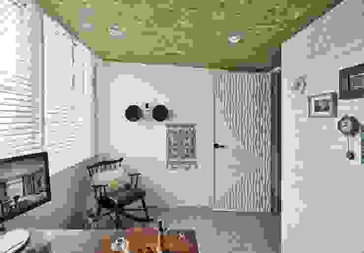 理絲室內設計|Ris Interior Design Workspace 根據 理絲室內設計有限公司 Ris Interior Design Co., Ltd. 地中海風 磚塊