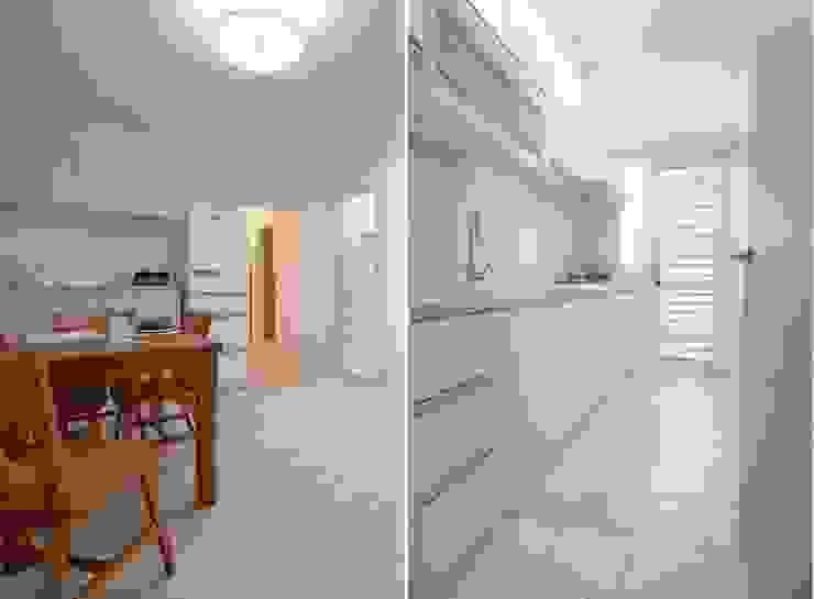 一字型廚房 根據 大觀創境空間設計事務所 日式風、東方風