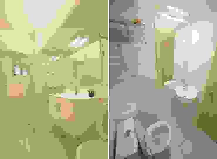 間接照明衛浴室 根據 大觀創境空間設計事務所 日式風、東方風