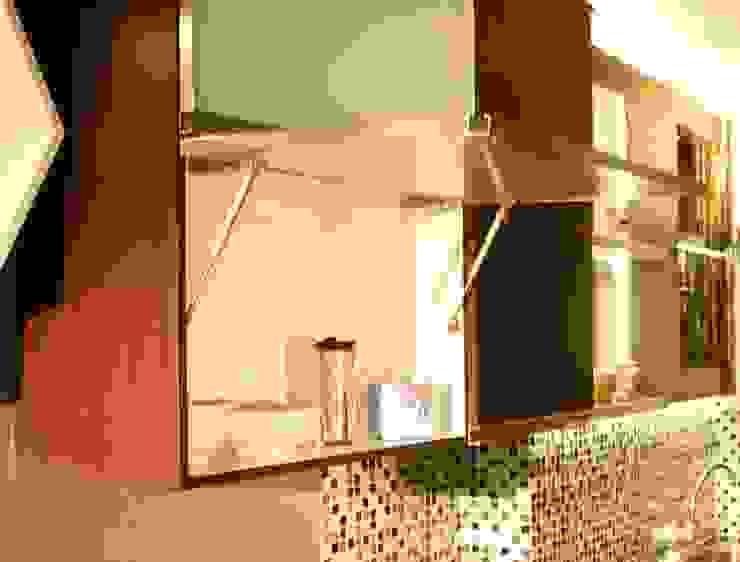 Beverly Honeycomb Tipe Studio Apartment Kamar Mandi Gaya Eklektik Oleh POWL Studio Eklektik