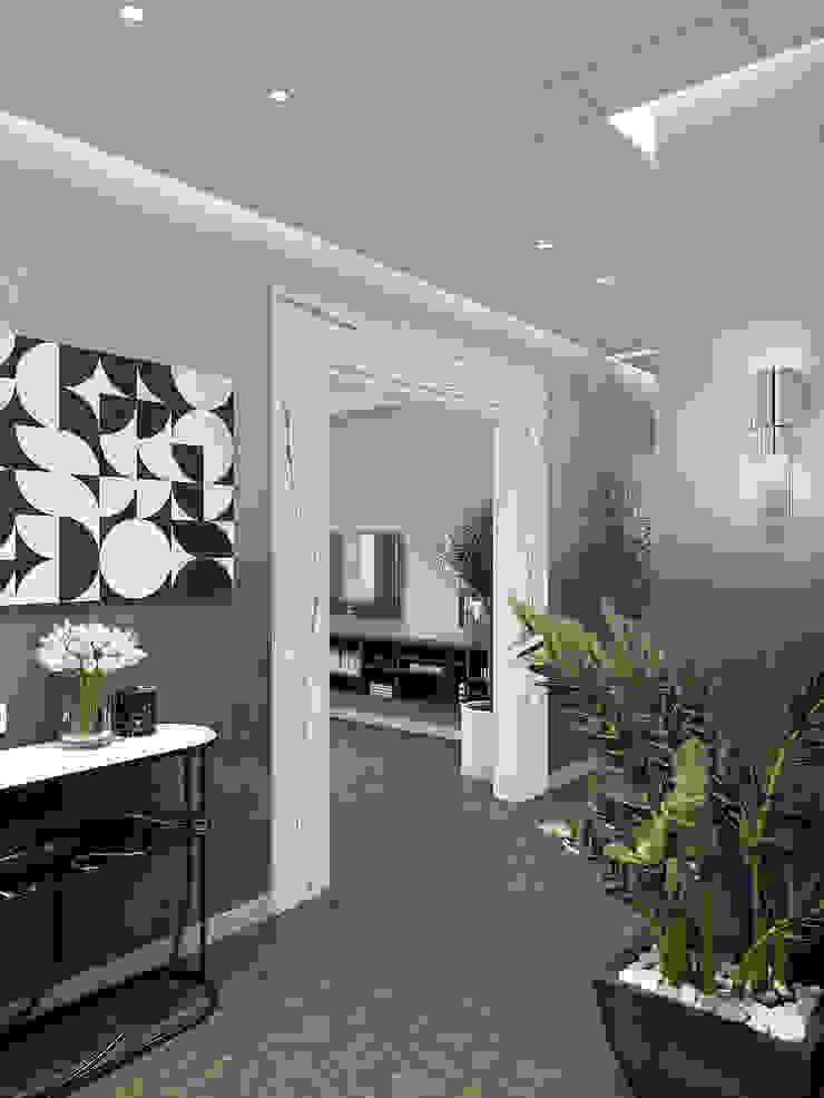 Pasillos, vestíbulos y escaleras de estilo clásico de Wide Design Group Clásico