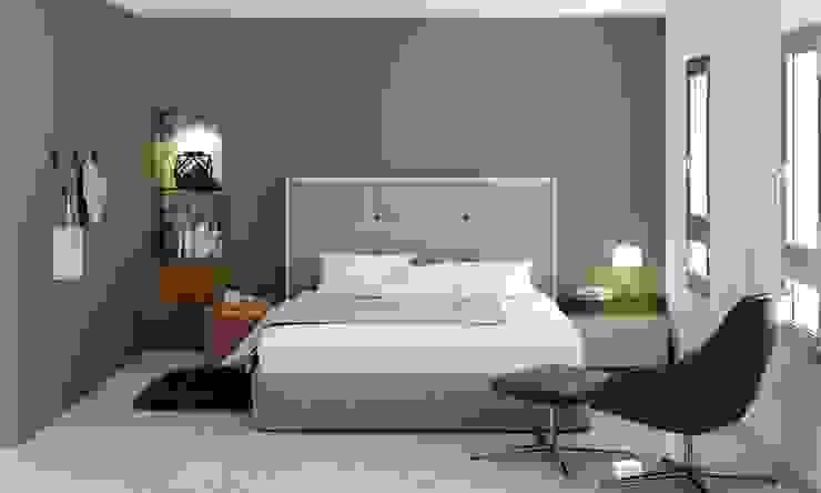 Dormitorio principal: Dormitorios de estilo  de Tono Lledó Estudio de Interiorismo en Alicante , Moderno