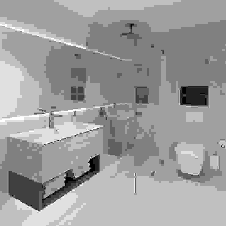 Baño de dormitorio principal Baños de estilo moderno de Tono Lledó Estudio de Interiorismo en Alicante Moderno