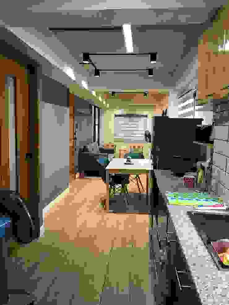 Kitchen by Jeff McDaniel Architects Modern