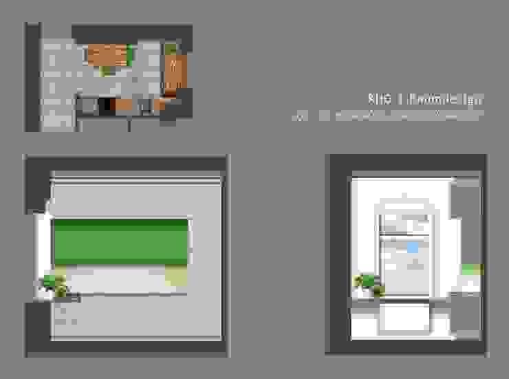 Projekt - Küche / Teeküche / Pausenraum: modern  von KHG Raumdesign - Innenarchitektin in Berlin und Umland, mgr. ing. Architektur Katharina Hajduk-Gast,Modern