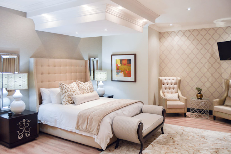 PORTFOLIO 2019 Modern style bedroom by CLINT LEWIS DESIGNS Modern