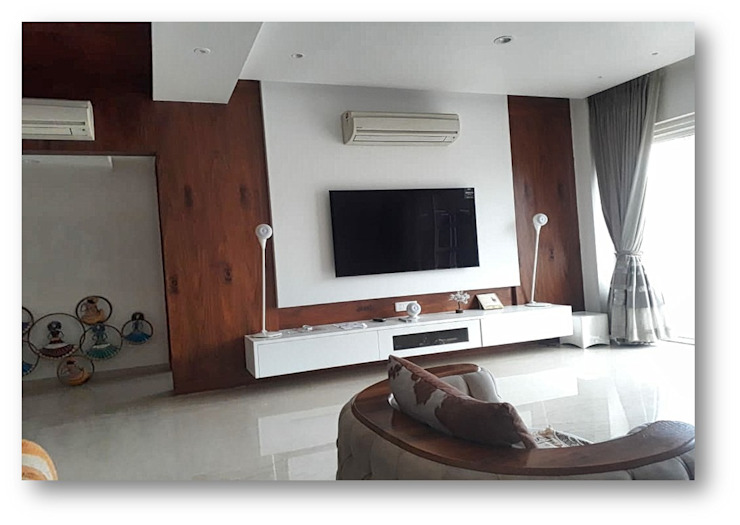 Living Room Homagica Services Private Limited Living roomTV stands & cabinets