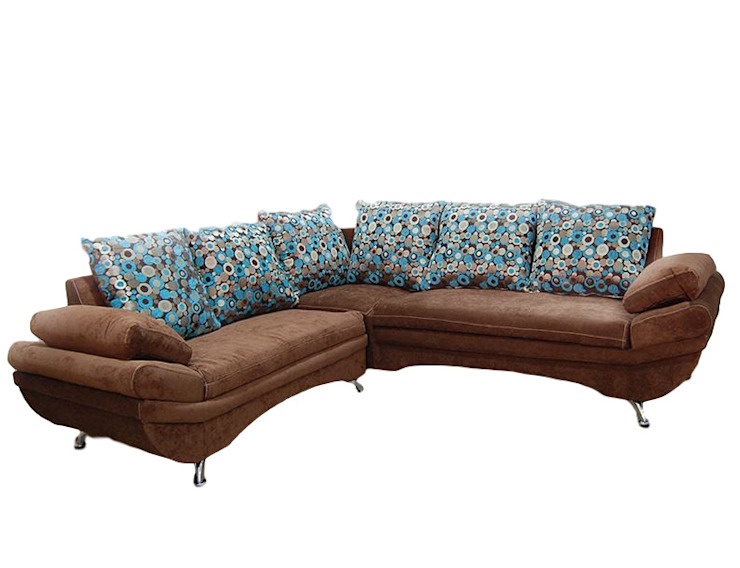 ALVETA DESIGN Living roomSofas & armchairs Textile Brown