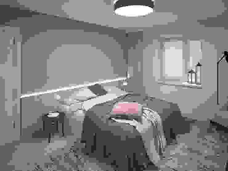Chambre minimaliste par Tafeta студия дизайна Minimaliste