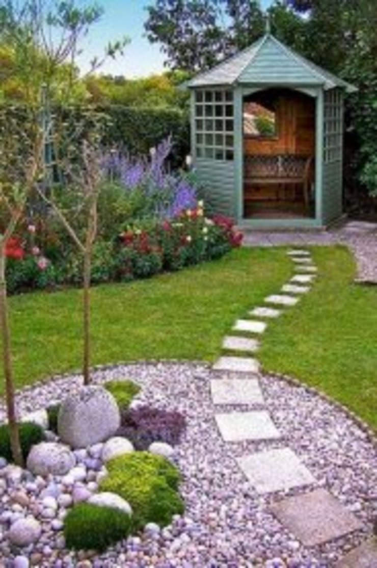 Stepping stones by Delight Gardening and Irrigation Service's