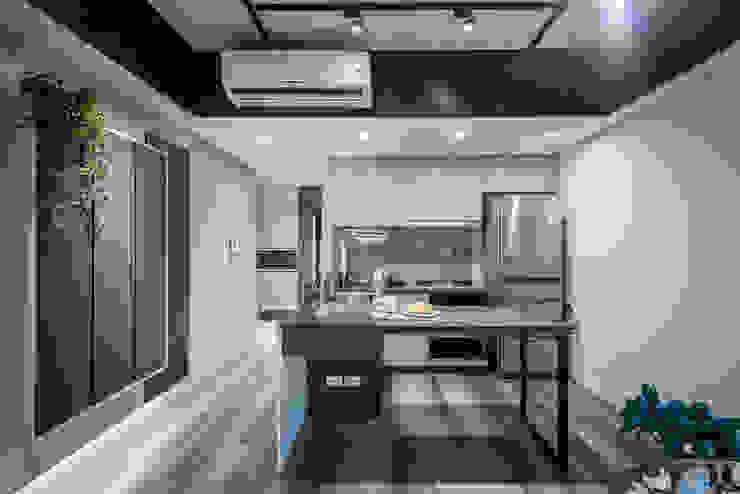 廚房 根據 你你空間設計 隨意取材風 木頭 Wood effect