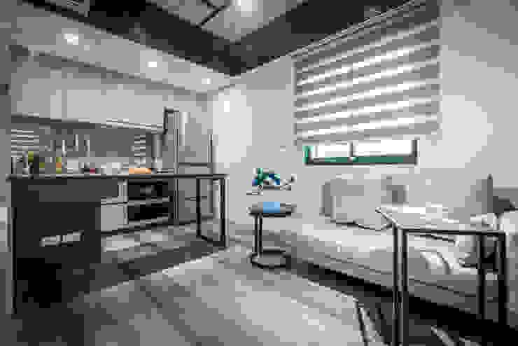 客廳 根據 你你空間設計 隨意取材風 大理石