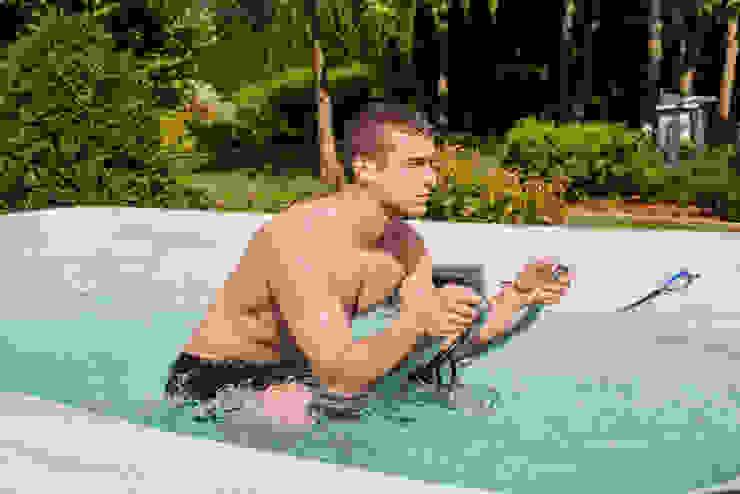 Swim Spa Garten:  Garten von SPA Deluxe GmbH - Whirlpools in Senden,