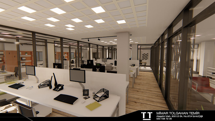 by TT MİMARLIK Modern Wood Wood effect