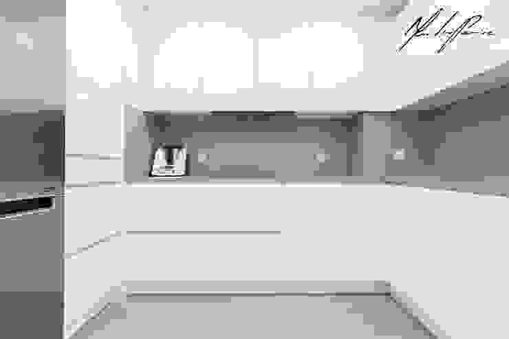 logotipo Cozinhas minimalistas por Mariline Pereira - Interior Design Lda. Minimalista