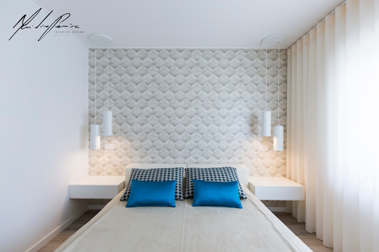 Minimalist bedroom by Mariline Pereira - Interior Design Lda. Minimalist