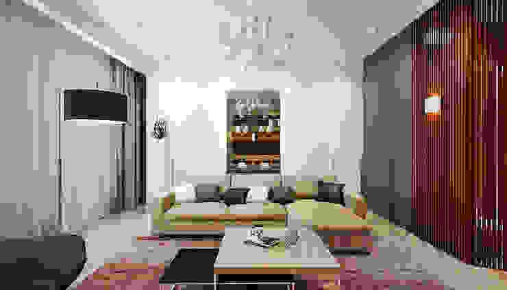 Дизайн студия 'Хороший интерьер' Salones de estilo moderno