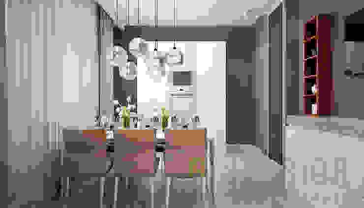Дизайн студия 'Хороший интерьер' Cocinas de estilo moderno