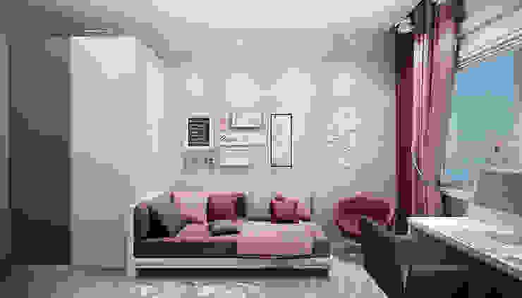 Chambre d'enfant moderne par Дизайн студия 'Хороший интерьер' Moderne