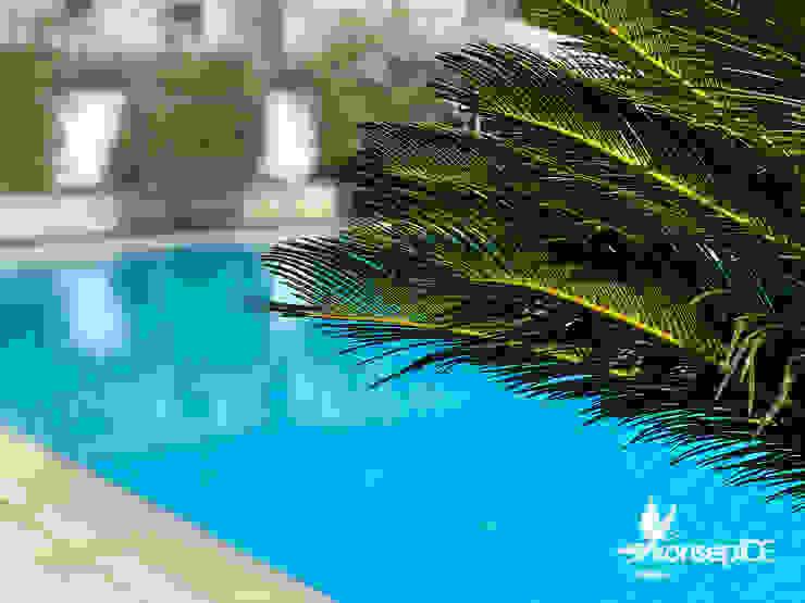 ÖZEL KONUT Peyzaj Bakım & Uygulama Klasik Havuz konseptDE Peyzaj Fidancılık Tic. Ltd. Şti. Klasik