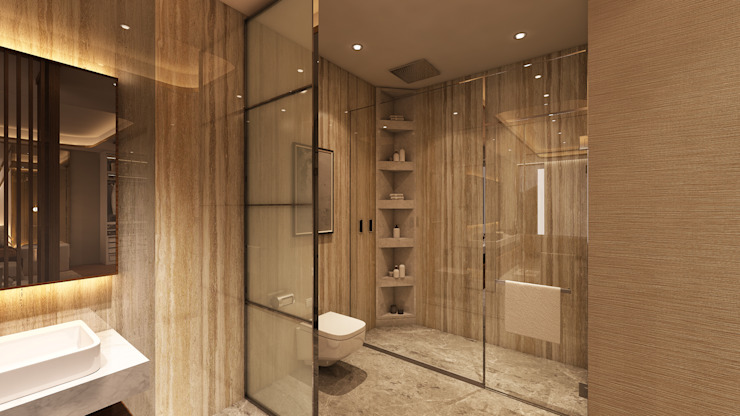 Projekty,  Łazienka zaprojektowane przez Alpha Details, Klasyczny