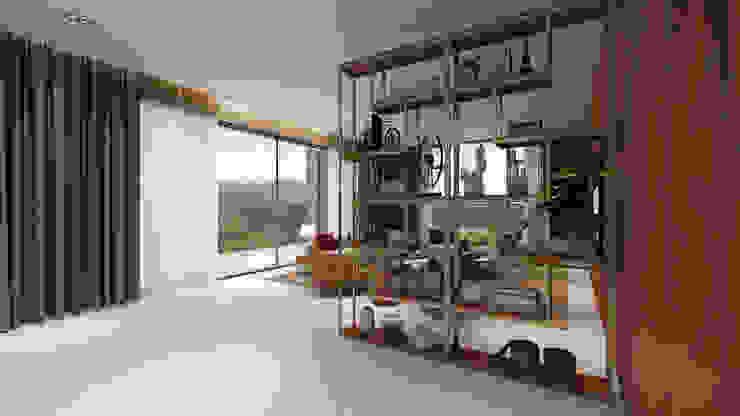 Salas modernas de Alpha Details Moderno