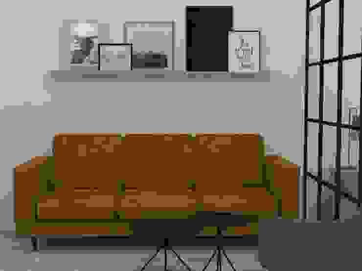 Diseño aparta hotel Medellín:  de estilo industrial por Decó ambientes a la medida, Industrial