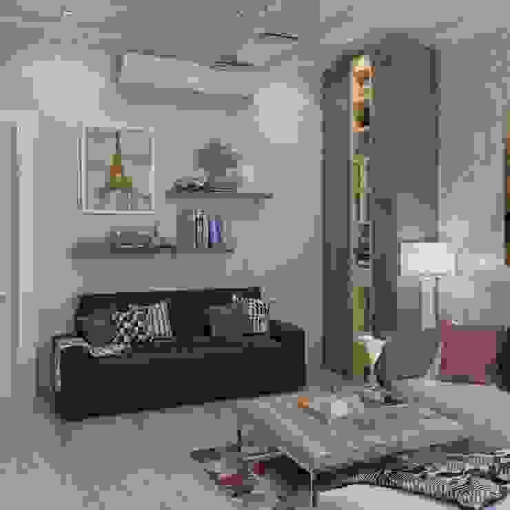 Living room من Archeffect تبسيطي