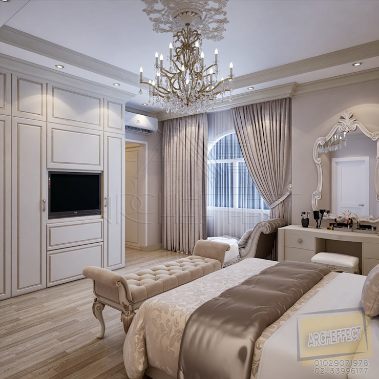 Classic style bedroom by Archeffect Classic