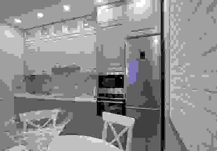 Moderne keukens van Студия интерьерного дизайна happy.design Modern