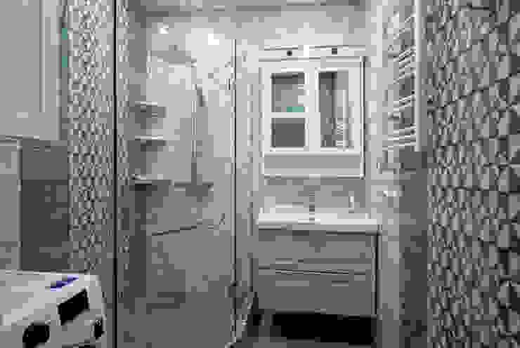 ห้องน้ำ โดย Студия интерьерного дизайна happy.design, โมเดิร์น