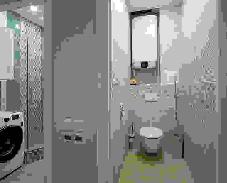 Baños de estilo moderno de Студия интерьерного дизайна happy.design Moderno