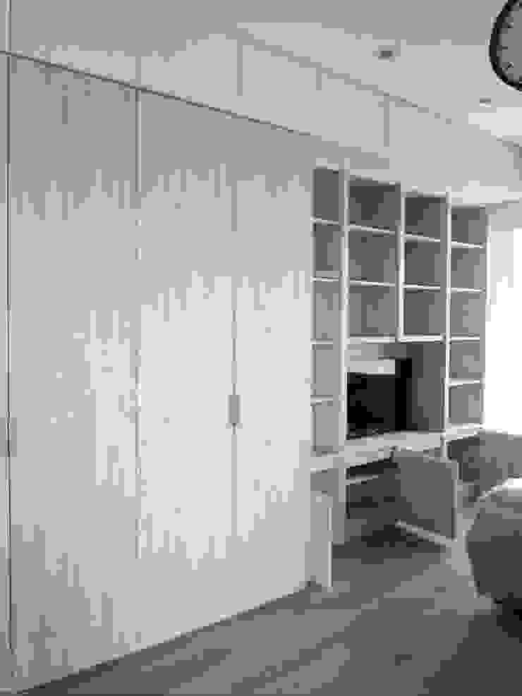 衣櫃+電視櫃 根據 ISQ 質の木系統家具 簡約風