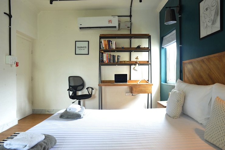 flamingo architects Small bedroom