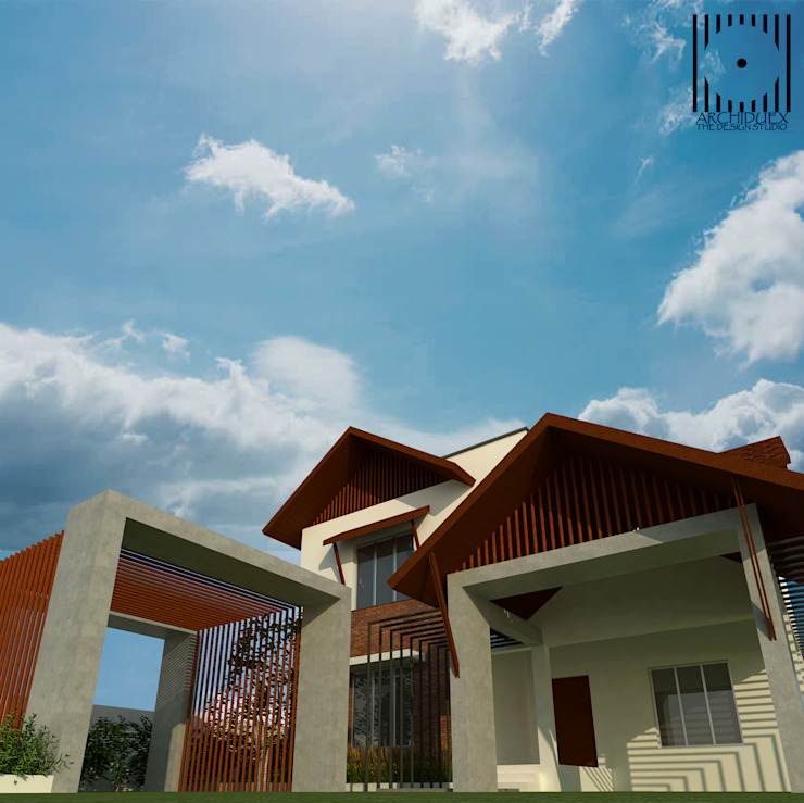 Renovation by ARCHIDUEX-THE DESIGN STUDIO Tropical Iron/Steel